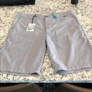 Brand new size 35 Travis Mathew Shorts
